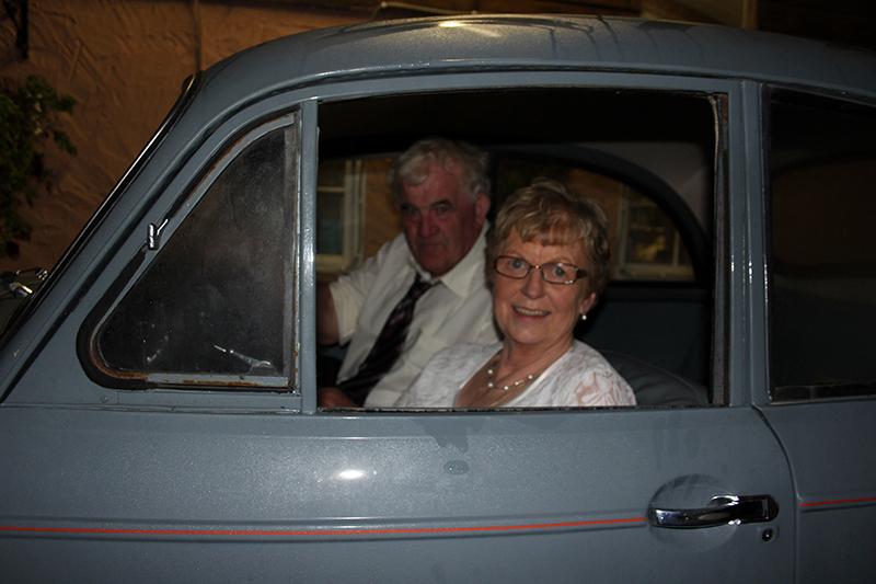Their old car